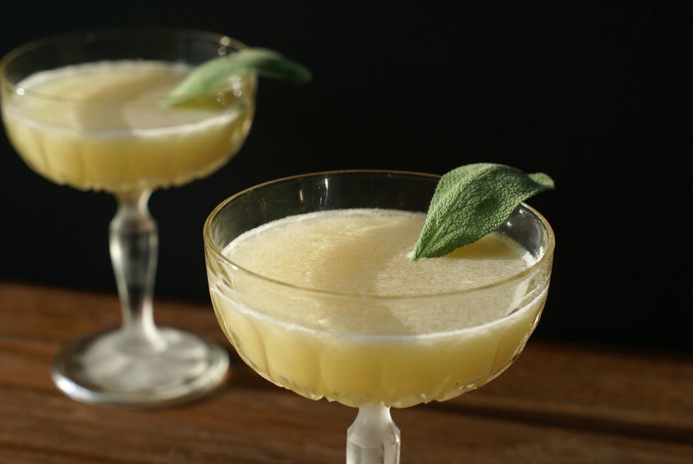 Pear Bourbon Sage