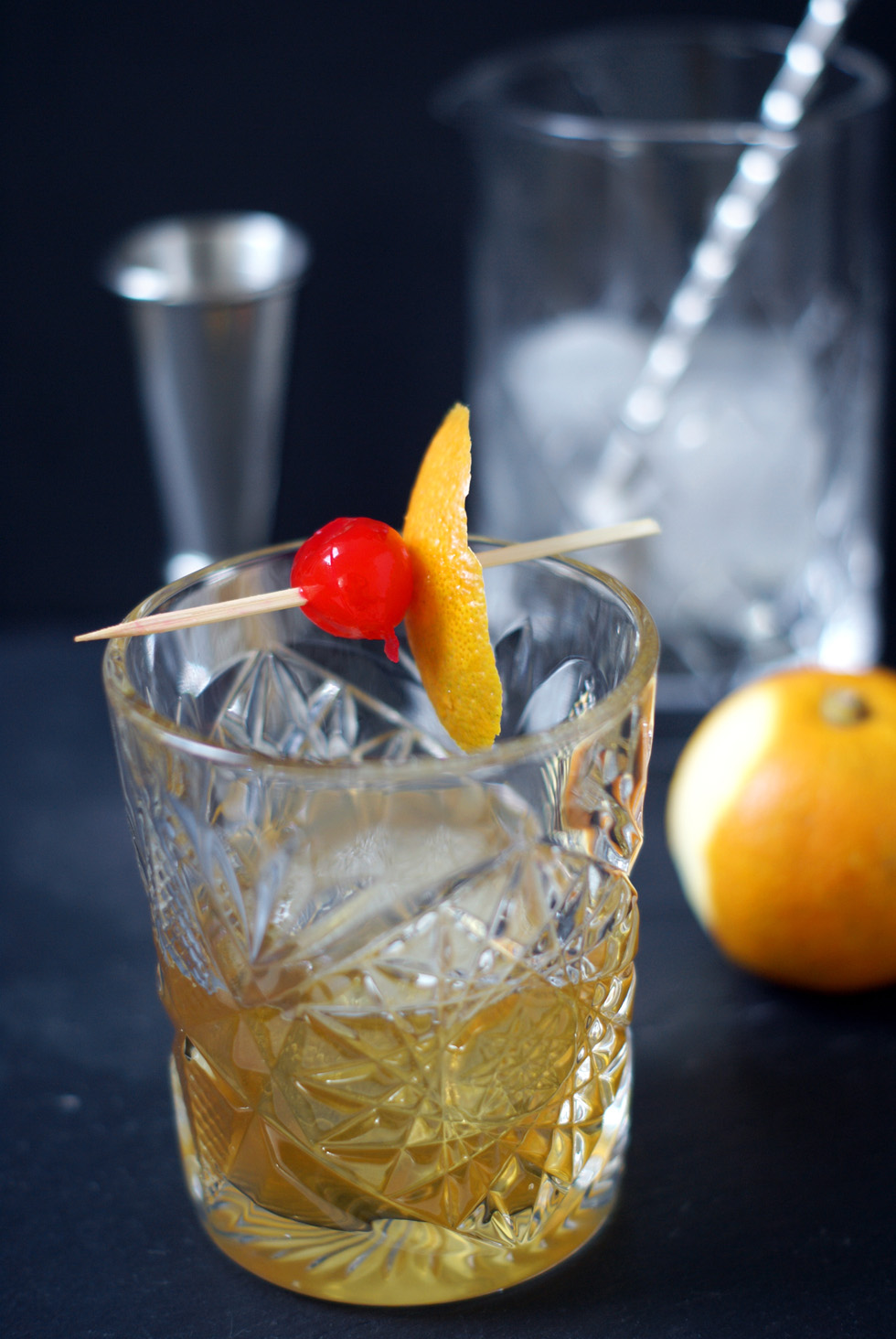 Old Fashioned Bitterorangensirup