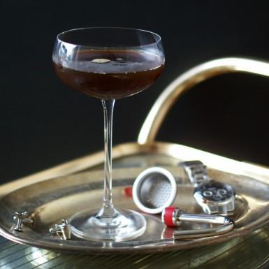 Wodka Martini Kaffeeinfusion