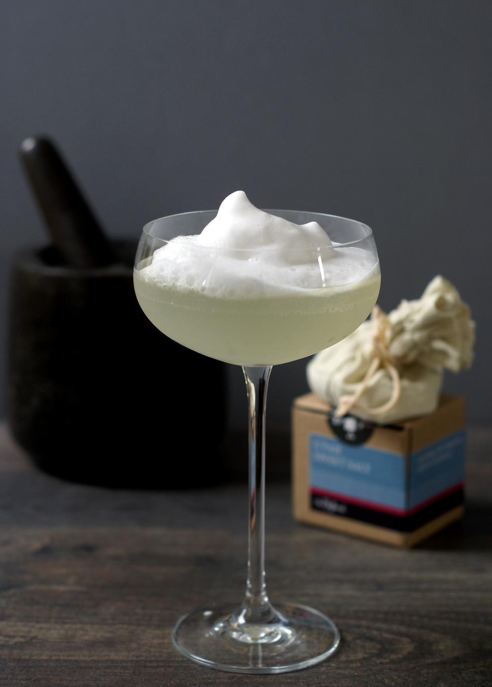 Salt Foam Margarita